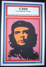 CHE COMMANDER FRIEND Cuban Pop Art Silk-screen Movie Poster / HAVANA CUBA Art