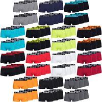 Umbro Herren 6er Boxershorts Plain Trunk Boxer Shorts Unterhose Set S M L XL neu