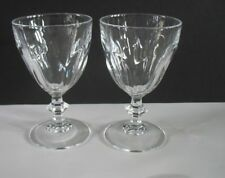 "Cristal d'Arques Durand Rambouillet Crystal Wine glasses SET/ 7 4 3/4"" crystal"