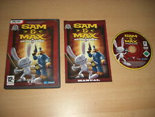 SAM & and MAX - SEASON ONE - Episodes 1-6 Pc DVD Rom FAST POST