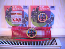 BEATLES SELCOL RED RECORD RACK, CIRCA 1963/64, EX COND' FACSIMILE STICKERS. RARE