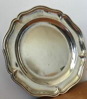 FRENCH SILVER PLAT XVIII ARMOIRIE MARIAGE COMTE 1767 CROWN 550 gr REIMS ARGENT