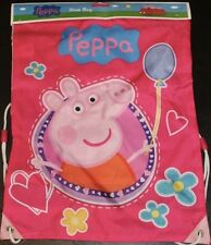 PEPPA PIG TRAINER BAG SHOES SPORTS SCHOOL PE KIT BEDROOM TOYS SPORTS HOLIDAYS