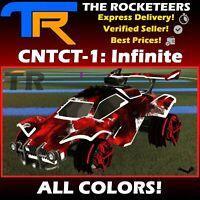 [PC] Rocket League Every CNTCT-1 Infinite Wheels Grey Lime Titanium White etc.
