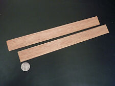 Wood Strip_Red Meranti (3mm x  30mm x  300mm) 2 lengths for Modeling,Craft,DIY