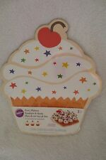 Wilton platters cupcake shaped 3 in pack 2104-5141
