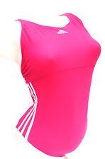 Adidas  Infinitex Sport Badeanzug Schwimmer 3SA Stripes  pink - weiß  36  Neu