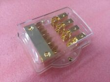 FUSED POWER DISTRIBUTION BLOCK 2-IN (4AWG) 4-OUT(8AWG)