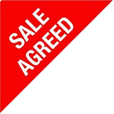 SALE AGREED - Estate Agents Stickers / Labels - Triangles - NOW LET - SOLD