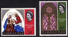 Gibraltar 1967 Christmas SG 771 - 774 Complete Set Unmounted Mint