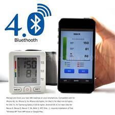 Bluetooth 4.0 Digital LCD Blood Pressure Monitor Tonometer Meter Detector T0U5