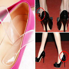 2*semelle talon Anti-usure Chaussures Transparent film de protection confortable