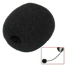 Microphone Headset Foam Sponge Mic Cover Soft For EPHS100 Corded Phone Black