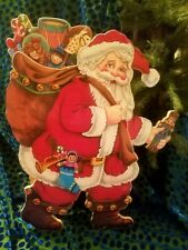 Moving Santa Claus San Francisco Christmas Music Box Co