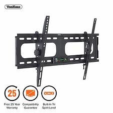 """VonHaus 33-60"""" Tilt TV Wall Mount Bracket with Built-In Tri Spirit Level"""
