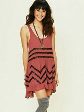 Free People Voile and Lace Trapeze Slip Size Small