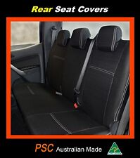 TOYOTA PRADO REAR PREMIUM NEOPRENE WATERPROOF CAR SEAT + HEADREST COVERS