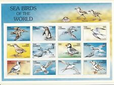 Gambia 1997 - Sea Birds - Mini Sheet - Mint lightly hinged on card (N101)