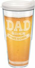 Tervis 1217278 Dad Beer Tumbler with Wrap and Frosted Lid 24oz, Clear by Tervis
