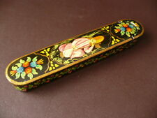 Vintage Persian Papier Mache Pen Box