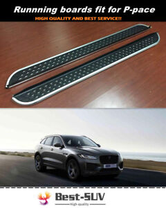 Fit for Jaguar F-Pace F Pace X761 2016-2020 Side Step Running Board Nerf Bar