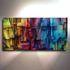 Mix Lang Art Abstract Painting Giclee Canvas Print Modern Contemporary Limited