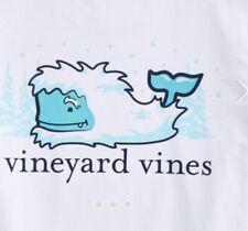 Vineyard Vines Mens White Long Sleeve Yeti Tee Shirt Size XXL