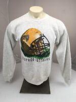 Vtg Nutmeg Mills 80s 90s NCAA COLORADO BUFFALOES Grey crewneck Sweatshirt XL USA