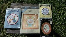 Lot Cross Stitch Kits - Something Special, Stitchables, Regency Mats - NOS