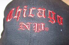 Embroidered Chicago Polar Graphics 100% Cotton Black Baseball Cap Hat