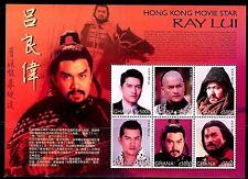 SELLOS TEMA CINE. GHANA RAY LUI. HONG KONG MOVIE STAR 6v. MINIHOJA