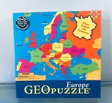 Geo Puzzle Geopuzzle World - Geo Toys Geography Countries Ages 4+ Europe
