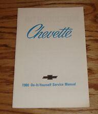 Original 1980 Chevrolet Chevette Do It Yourself Shop Service Manual 80 Chevy