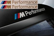2x M Performance Power Aufkleber 134 mm gold M Logo BMW gold X6 X3 3er 5er X5 X3