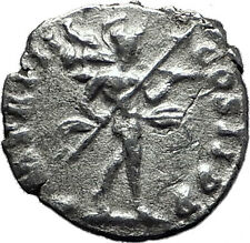 SEPTIMIUS SEVERUS 193AD Authentic Ancient Silver Roman Coin MARS WAR  i60411