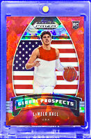LAMELO BALL 2020 PANINI PRIZM RED ICE #98 DRAFT PICKS  ROOKIE RC HORNETS