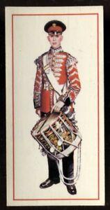 Tobacco Card, Carreras, Black Cat, MILITARY UNIFORMS, 1976, Drummer, #43