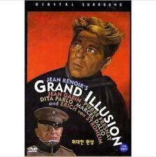 La Grande Illusion (1937) DVD (Sealed) ~ Jean Renoir