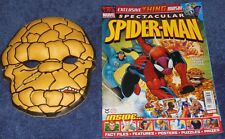 SPECTACULAR SPIDER-MAN COMIC #154~UNITED KINGDOM~2007~THE THING MASK~PANINI