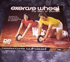 Vintage Exercise Wheel 70s Men Woman Diversified Products Nos Deadstock Prop