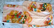 2 KIMONO seta furisode + 4 OBI 2 x yukata + ZORI + himo original made in JAPAN
