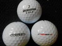 "10 BRIDGESTONE ""TREOSOFT"" Golf Balls - ""PEARL"" Grade."