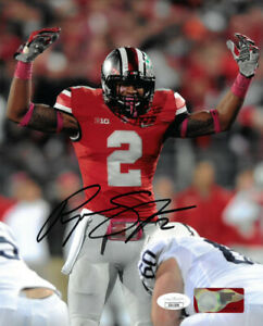 Ryan Shazier signed Ohio State Buckeyes NCAA 8x10 Photo #2- JSA Authenticated