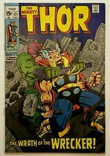 THOR, THE MIGHTY #171 (DECEMBER/1969) VERY FINE 8.0  - STAN LEE & JACK KIRBY