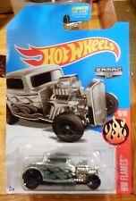2017 Hot Wheels *  Zamac * L CASE 1932 Ford HW Flames 6/10 Walmart Exclusive
