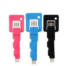 Baseus Portable Mini Key Data Sync Charging USB Cable Plug for iPhone 6 5s iPad