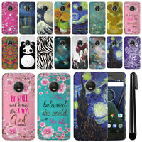 "For Motorola Moto G5 Plus 5.2"" HARD Protector Back Case Phone Cover + PEN"