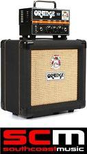 ORANGE MICRO DARK TERROR AMPLIFIER HALF AMP STACK HEAD +PPC108 BLACK SPEAKER CAB