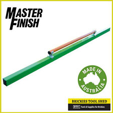 MASTER FINISH CLAMPED HANDLE CONCRETE SCREED 1.5m/1500mm - NEW + AUSSIE MADE