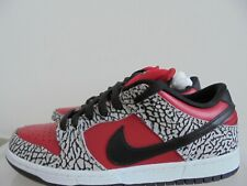 Nike Dunk SB Low Supreme Red Cement yeezy patta atmos kith 313170-600